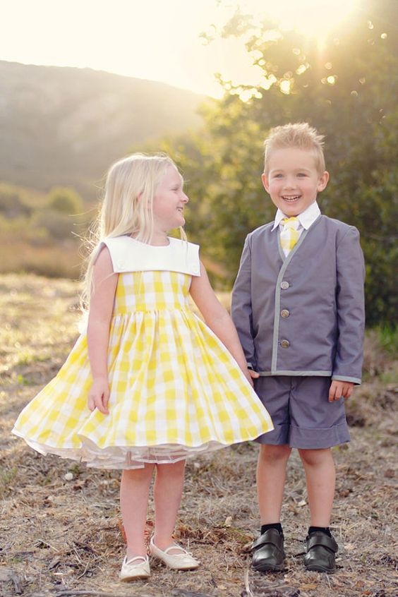 sassy flower girl outfit & ring bearer outfit