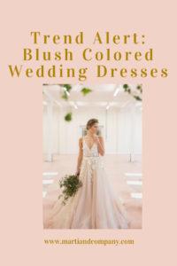 Trend Alert: Blush Wedding Dresses