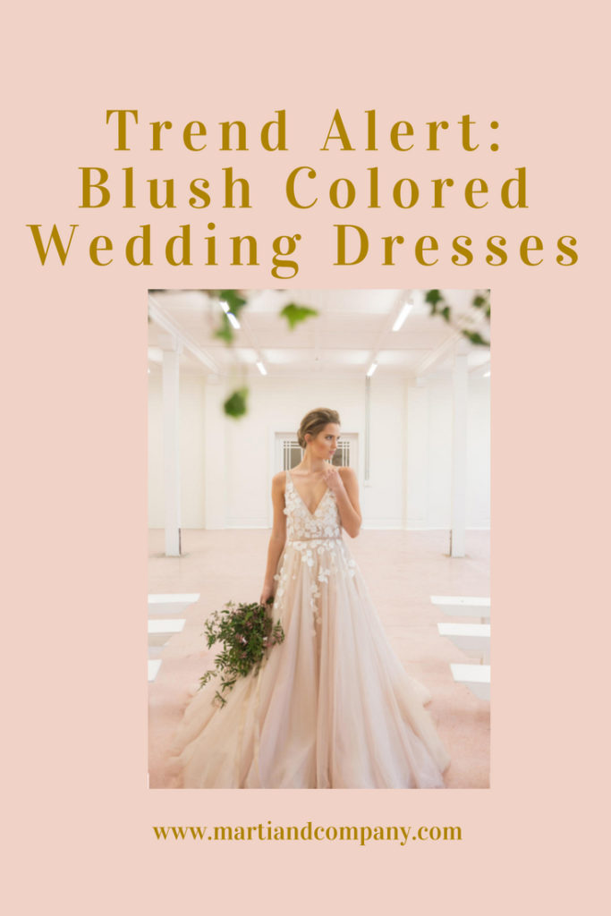 Trend Alert: Blush Wedding Dresses
