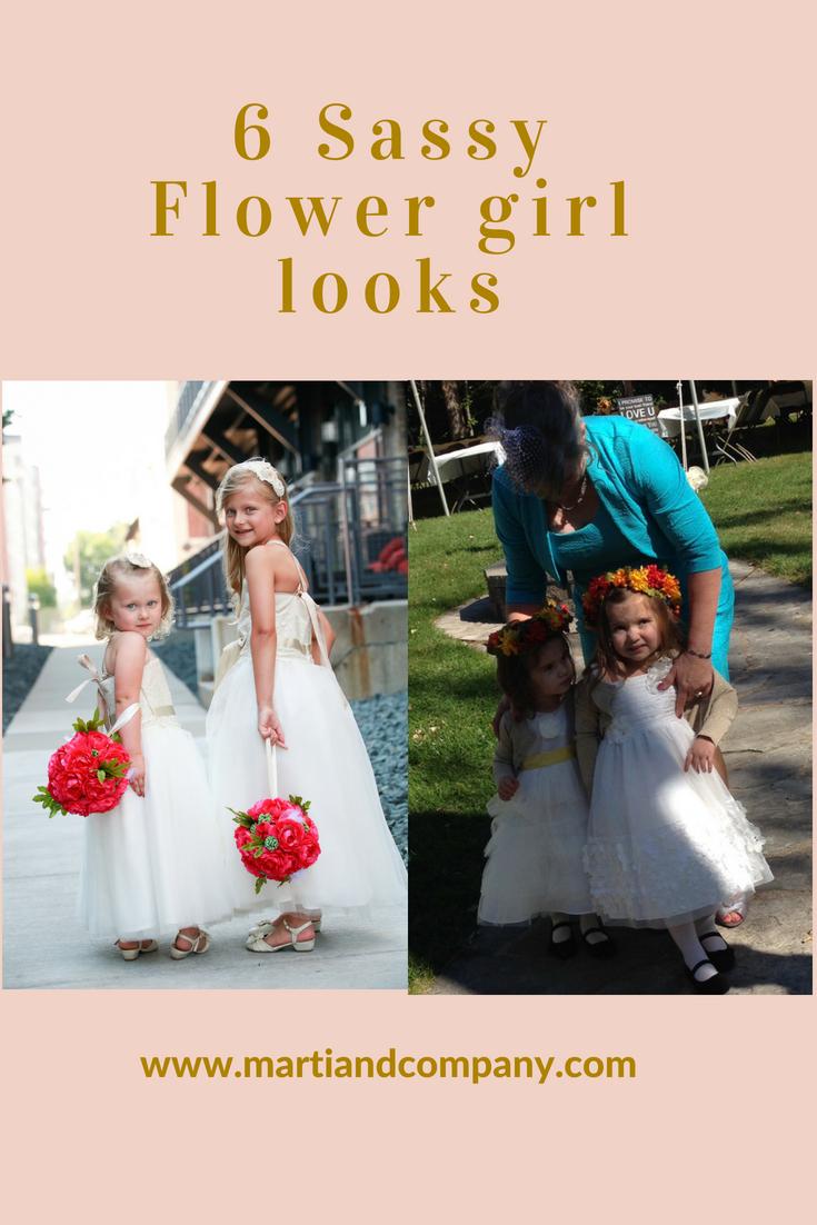 6 Sassy Flower Girl Styles
