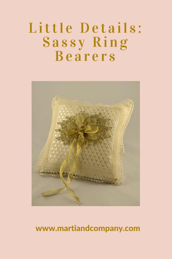 Sassy Ring Bearer Styles