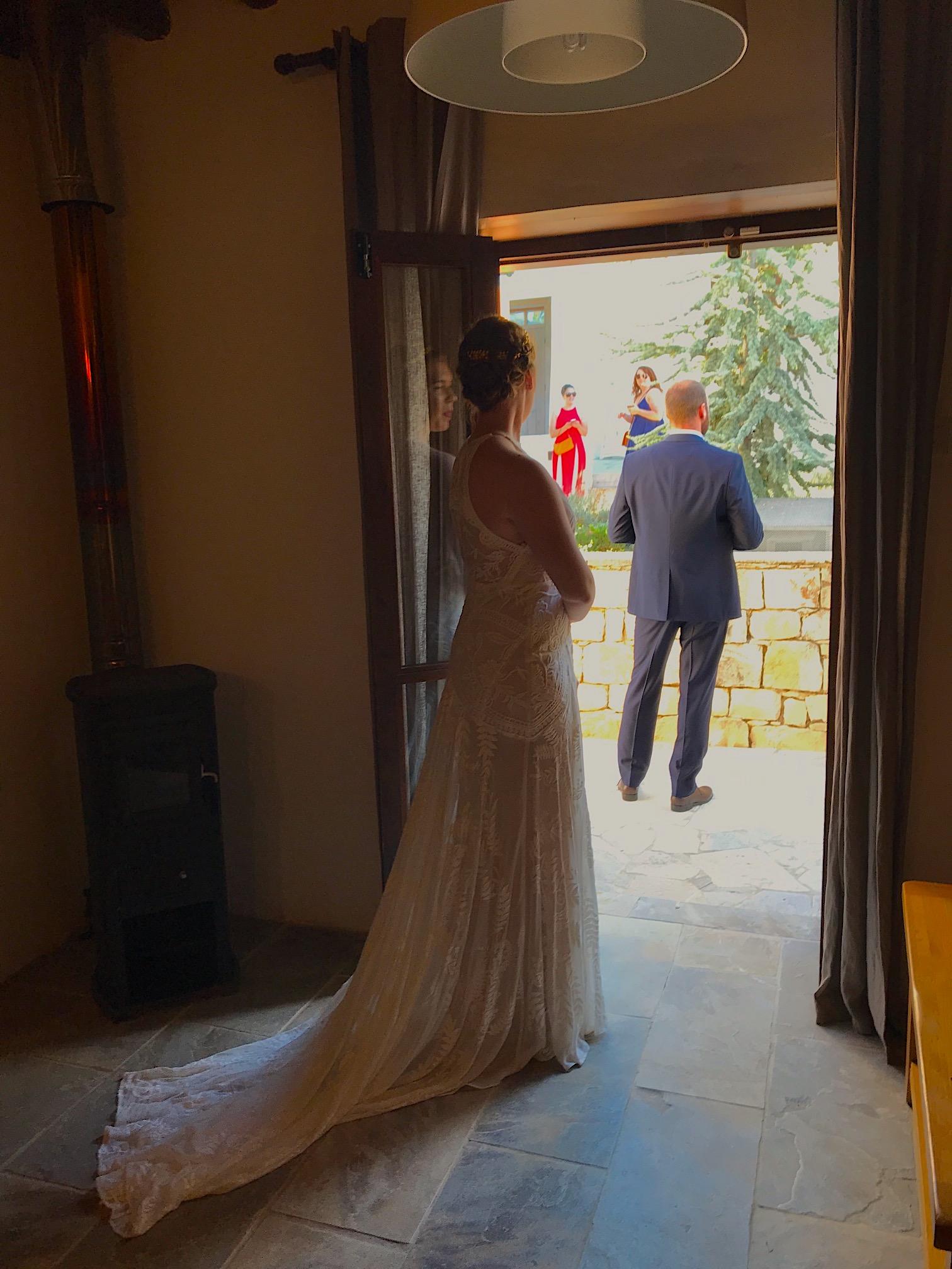 kelli before the wedding