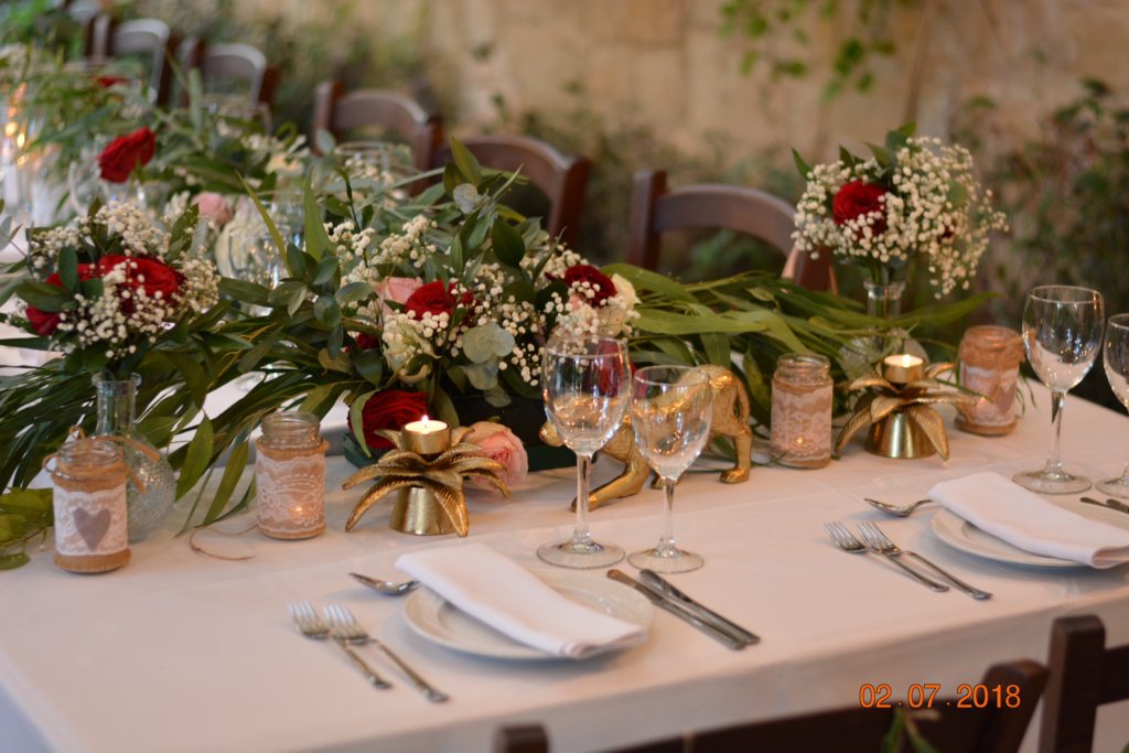 September 2020 post How To's While You Wait -Decor for Ceremony & Reception