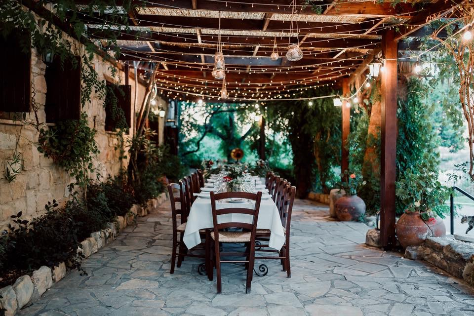 Reception site at the Inn, Paphos Cyprus