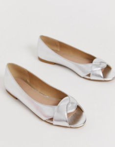 Silver Flats For Wedding.Asos Silver Flats Wedding Guest Wedding Party Dresses