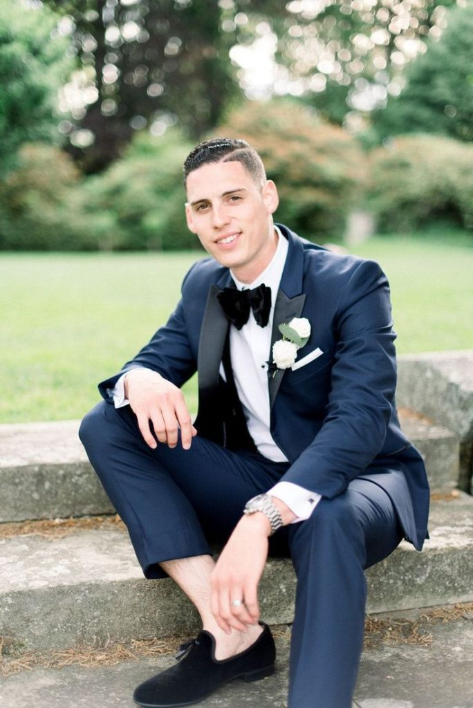 groom post - bow ties https://alyda.eveningdressesmodels.ga/dapper-blue-groom-suit-with-velvet-bow-tie/