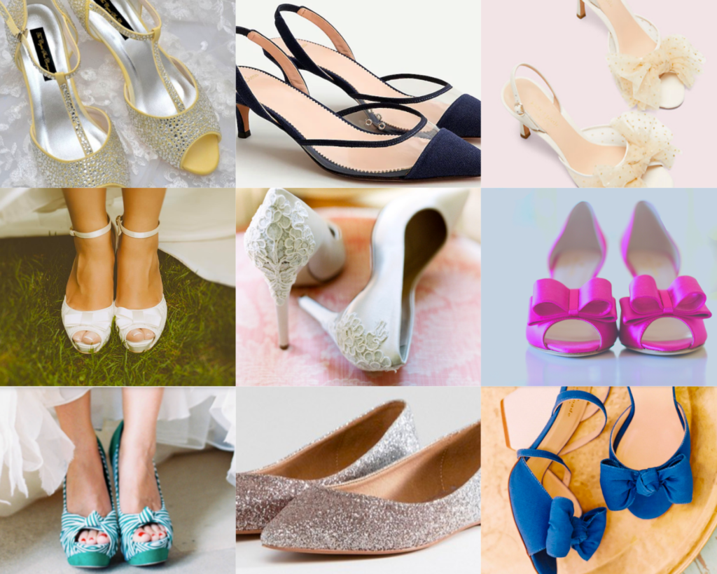 my canva graphic shoes July post