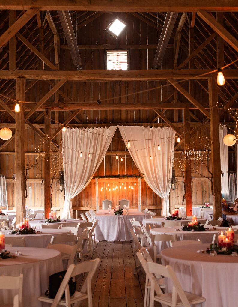 Venue for Ceremony & Reception - Gatherings on the Ridge