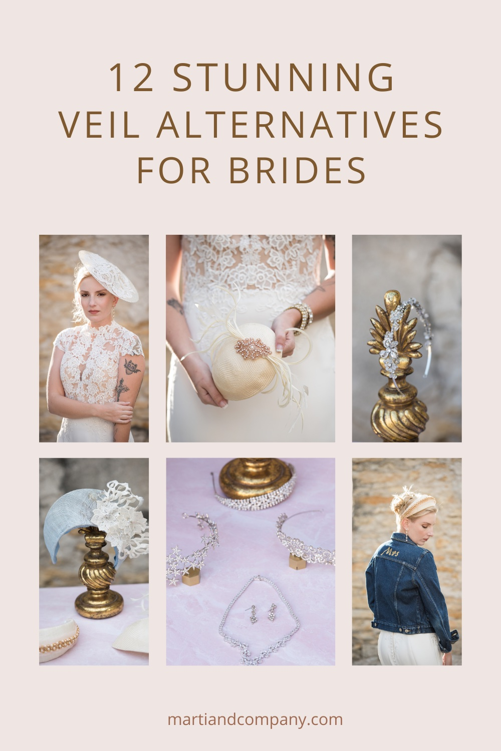 featured image 12 Stunning Veil Alternatives for Brides
