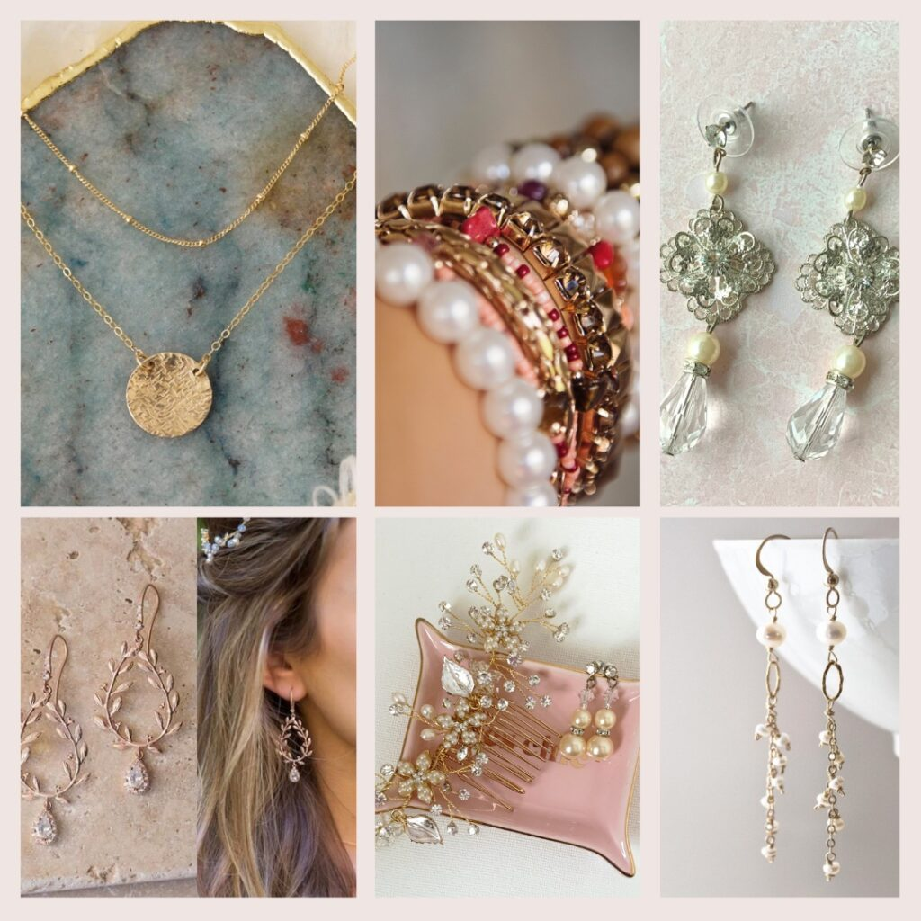 outfitting your bridesmaids in boho jewelry